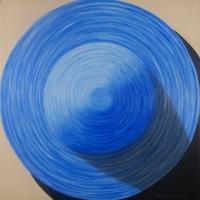 STRAW HAT BLUE