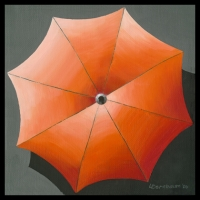 UMBRELLA ORANGE