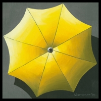 UMBRELLA YELLOW